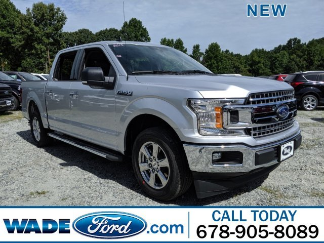 2019 Ingot Silver Metallic Ford F-150 XLT Truck Regular Unleaded V-8 5.0 L/302 Engine RWD 4 Door