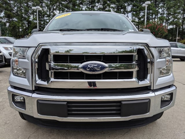 2016 Ingot Silver Metallic Ford F-150 XLT RWD Truck 4 Door V-6 3.5 L/213 Engine Automatic