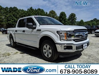2019 Oxford White Ford F-150 XLT Truck Automatic RWD 4 Door Regular Unleaded V-6 3.3 L Engine