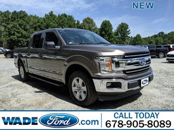 2019 Stone Gray Metallic Ford F-150 XLT Regular Unleaded V-6 3.3 L Engine Truck Automatic RWD