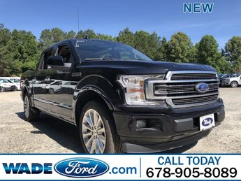 2019 Agate Black Metallic Ford F-150 Limited Truck RWD 4 Door Automatic