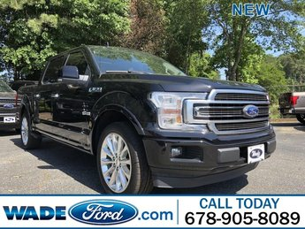 2019 Agate Black Metallic Ford F-150 Limited Truck 4 Door Twin Turbo Regular Unleaded V-6 3.5 L/213 Engine