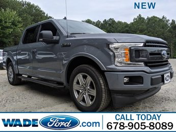 2019 Blue Jeans Metallic Ford F-150 XLT Automatic RWD Truck 4 Door Twin Turbo Regular Unleaded V-6 2.7 L/164 Engine