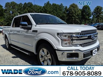 2019 Ford F-150 LARIAT Twin Turbo Regular Unleaded V-6 2.7 L/164 Engine Automatic RWD 4 Door Truck