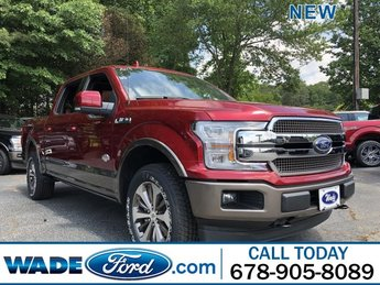 2019 Ruby Red Metallic Tinted Clearcoat Ford F-150 King Ranch 4X4 Truck Automatic 4 Door