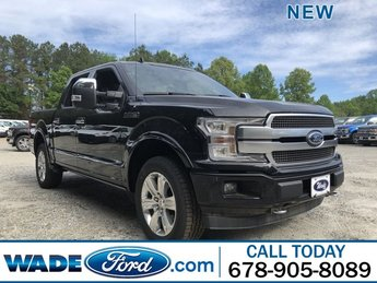 2019 Ford F-150 Platinum Truck Automatic 4X4 4 Door Twin Turbo Regular Unleaded V-6 3.5 L/213 Engine