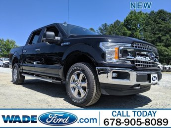 2019 Agate Black Metallic Ford F-150 XLT Automatic 4 Door 4X4