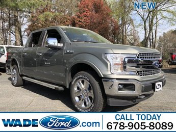 2019 Silver Spruce Metallic Ford F-150 LARIAT Automatic Truck 4X4 Twin Turbo Regular Unleaded V-6 3.5 L/213 Engine 4 Door