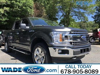 2019 Magnetic Metallic Ford F-150 XLT Truck 4X4 Automatic 4 Door