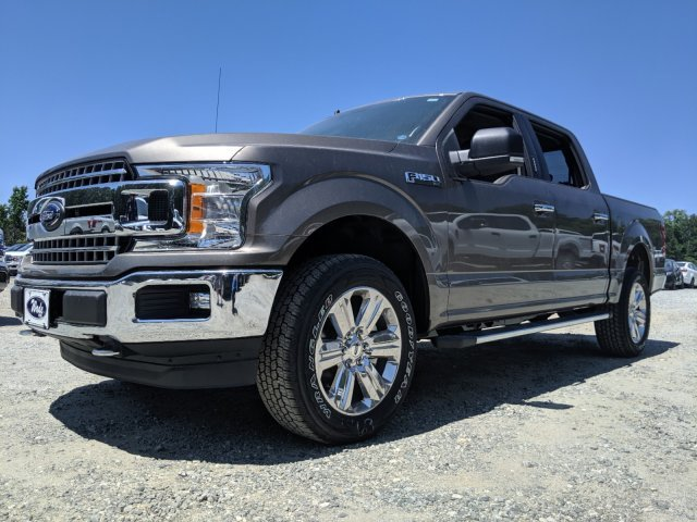 2019 Stone Gray Metallic Ford F-150 XLT 4 Door Twin Turbo Regular Unleaded V-6 3.5 L/213 Engine Truck Automatic