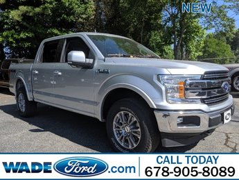 2019 Ingot Silver Metallic Ford F-150 LARIAT 4X4 Twin Turbo Regular Unleaded V-6 3.5 L/213 Engine Truck 4 Door Automatic