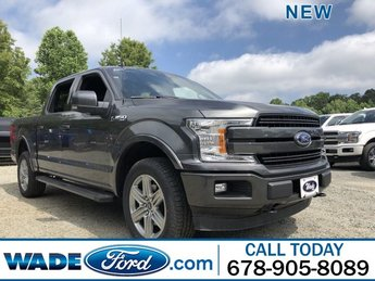 2019 Magnetic Metallic Ford F-150 LARIAT Twin Turbo Regular Unleaded V-6 3.5 L/213 Engine Automatic 4 Door Truck 4X4