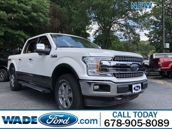 2019 White Platinum Metallic Tri-Coat Ford F-150 LARIAT 4X4 4 Door Twin Turbo Regular Unleaded V-6 3.5 L/213 Engine