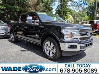 2019 Agate Black Metallic Ford F-150 King Ranch Automatic 4X4 Twin Turbo Regular Unleaded V-6 3.5 L/213 Engine 4 Door Truck