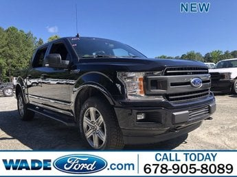 2019 Agate Black Metallic Ford F-150 XLT Truck 4 Door 4X4 Automatic