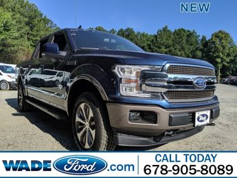 2019 Blue Jeans Metallic Ford F-150 King Ranch 4X4 Automatic Truck 4 Door
