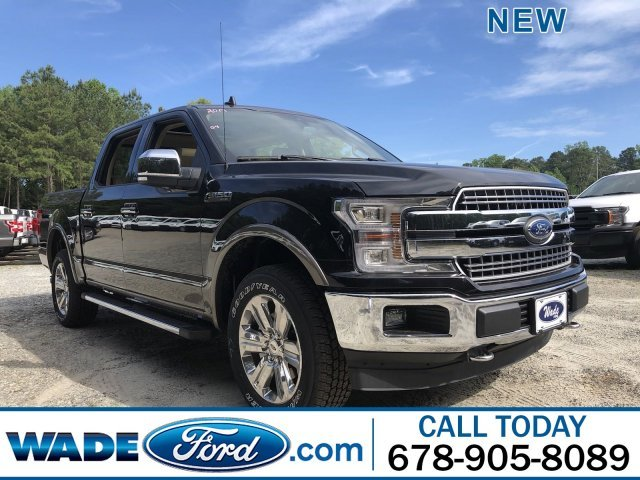 2019 Agate Black Metallic Ford F-150 LARIAT Regular Unleaded V-8 5.0 L/302 Engine 4 Door Truck