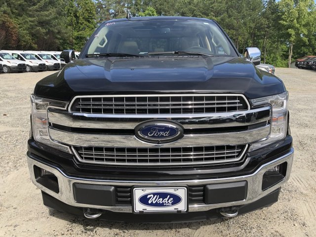 2019 Agate Black Metallic Ford F-150 LARIAT Regular Unleaded V-8 5.0 L/302 Engine Truck Automatic 4 Door