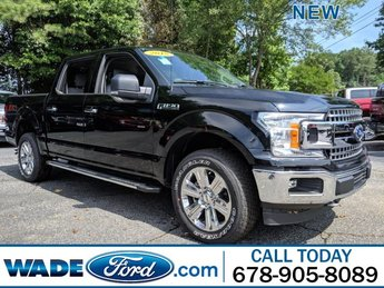 2018 Shadow Black Ford F-150 XLT Regular Unleaded V-8 5.0 L/302 Engine 4X4 4 Door Automatic Truck