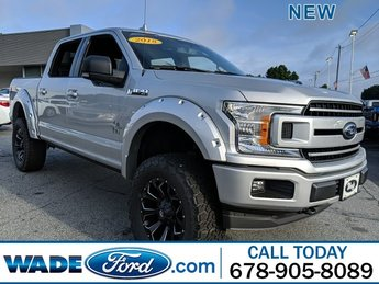 2018 Ingot Silver Metallic Ford F-150 XLT 4 Door Regular Unleaded V-8 5.0 L/302 Engine Automatic 4X4 Truck