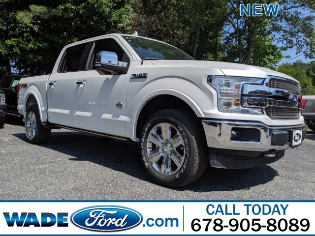 2019 White Platinum Metallic Tri-Coat Ford F-150 King Ranch 4 Door 4X4 Regular Unleaded V-8 5.0 L/302 Engine Truck Automatic
