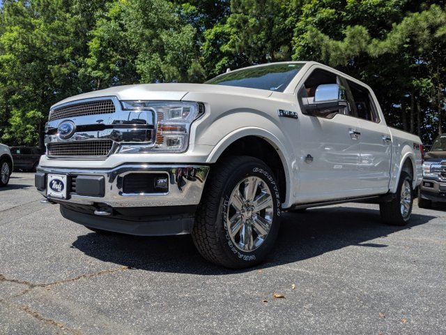 2019 Ford F-150 King Ranch Regular Unleaded V-8 5.0 L/302 Engine Truck Automatic 4 Door