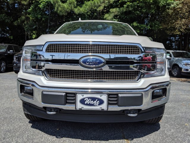 2019 White Platinum Metallic Tri-Coat Ford F-150 King Ranch Automatic Regular Unleaded V-8 5.0 L/302 Engine 4X4 Truck 4 Door