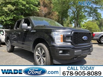 2019 Agate Black Metallic Ford F-150 XL Regular Unleaded V-8 5.0 L/302 Engine 4X4 4 Door