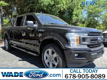 2019 Agate Black Metallic Ford F-150 XLT Truck 4 Door 4X4 Regular Unleaded V-8 5.0 L/302 Engine
