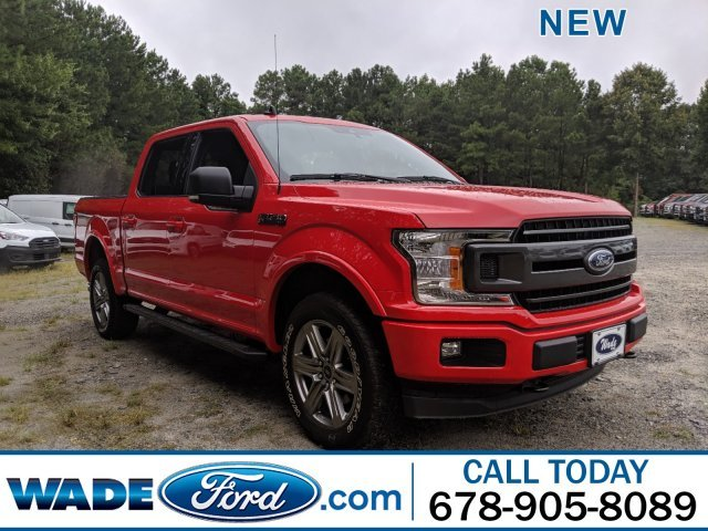 2019 Race Red Ford F-150 XLT Truck Regular Unleaded V-8 5.0 L/302 Engine 4 Door Automatic 4X4