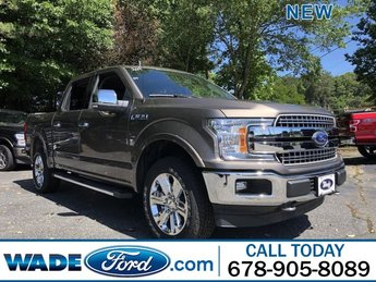 2019 Ford F-150 LARIAT Regular Unleaded V-8 5.0 L/302 Engine 4X4 4 Door Automatic