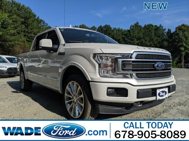 2019 White Platinum Metallic Tri-Coat Ford F-150 Limited Twin Turbo Regular Unleaded V-6 3.5 L/213 Engine Automatic 4X4