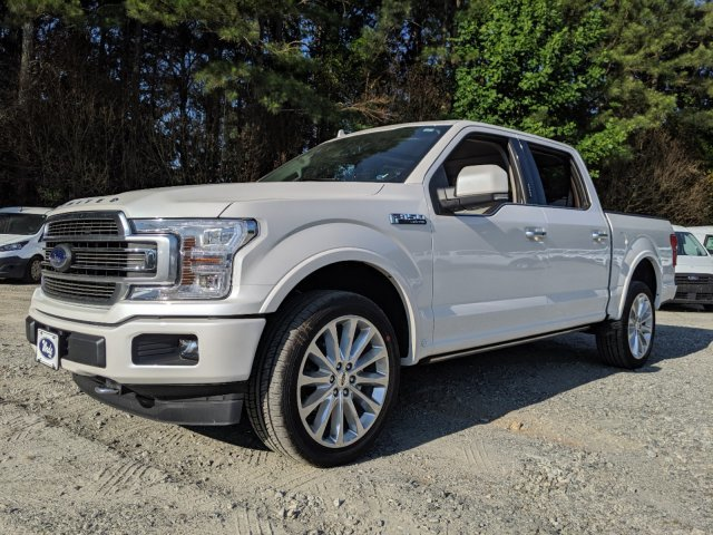 2019 White Platinum Metallic Tri-Coat Ford F-150 Limited Truck 4X4 Automatic