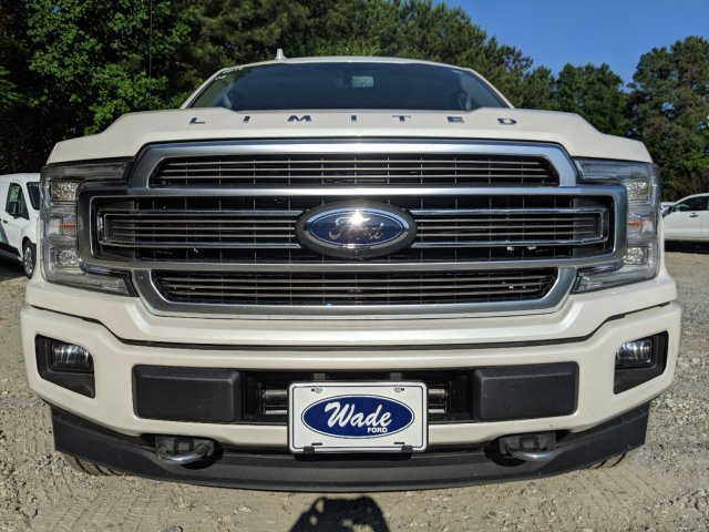 2019 White Platinum Metallic Tri-Coat Ford F-150 Limited Truck 4X4 Automatic Twin Turbo Regular Unleaded V-6 3.5 L/213 Engine 4 Door