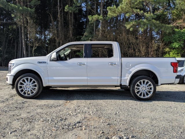 2019 White Platinum Metallic Tri-Coat Ford F-150 Limited Twin Turbo Regular Unleaded V-6 3.5 L/213 Engine Truck Automatic 4X4 4 Door