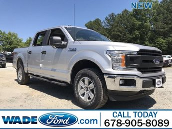 2019 Ingot Silver Metallic Ford F-150 LARIAT 4X4 4 Door Twin Turbo Regular Unleaded V-6 2.7 L/164 Engine Automatic