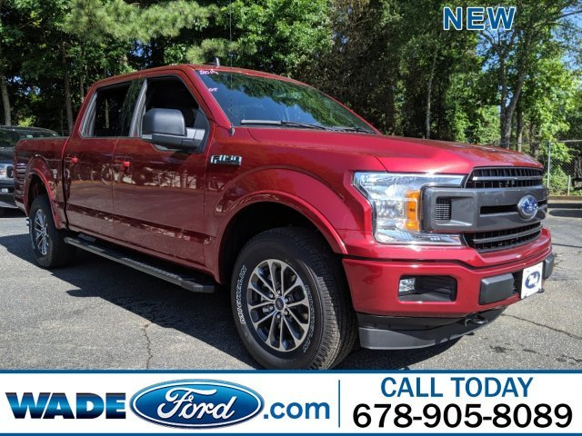 2019 Ruby Red Metallic Tinted Clearcoat Ford F-150 LARIAT Twin Turbo Regular Unleaded V-6 2.7 L/164 Engine Truck Automatic