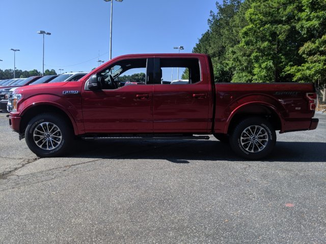 2019 Ruby Red Metallic Tinted Clearcoat Ford F-150 LARIAT Truck Twin Turbo Regular Unleaded V-6 2.7 L/164 Engine Automatic 4 Door