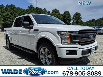 2019 Oxford White Ford F-150 XLT Truck 4X4 Automatic Twin Turbo Regular Unleaded V-6 2.7 L/164 Engine