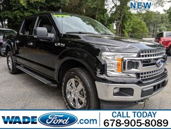 2019 Agate Black Metallic Ford F-150 LARIAT Truck 4X4 Twin Turbo Regular Unleaded V-6 2.7 L/164 Engine 4 Door Automatic