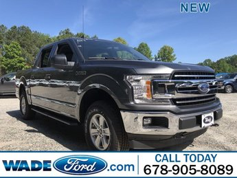 2019 Magnetic Metallic Ford F-150 XLT Automatic 4X4 Twin Turbo Regular Unleaded V-6 2.7 L/164 Engine 4 Door Truck