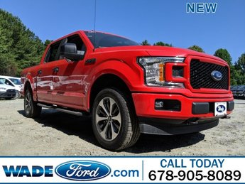 2019 Race Red Ford F-150 LARIAT 4X4 Twin Turbo Regular Unleaded V-6 2.7 L/164 Engine 4 Door Truck Automatic