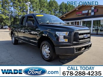 2016 Green Gem Metallic Ford F-150 XL RWD Regular Unleaded V-6 3.5 L/213 Engine 4 Door Truck