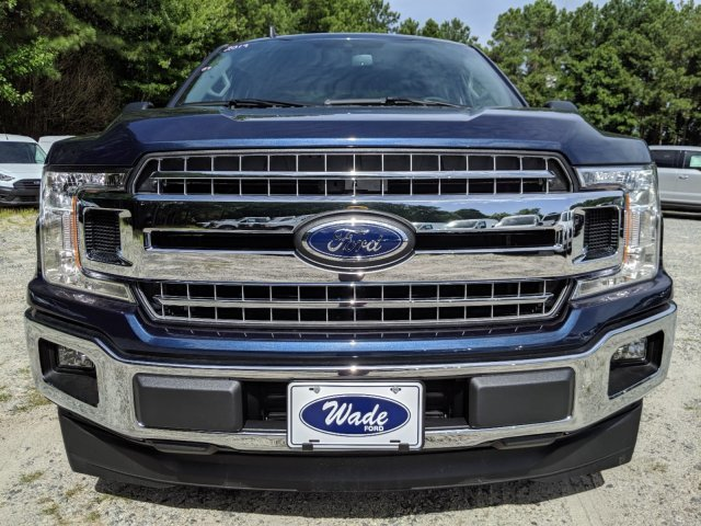 2019 Blue Jeans Metallic Ford F-150 XLT Truck Automatic 4 Door