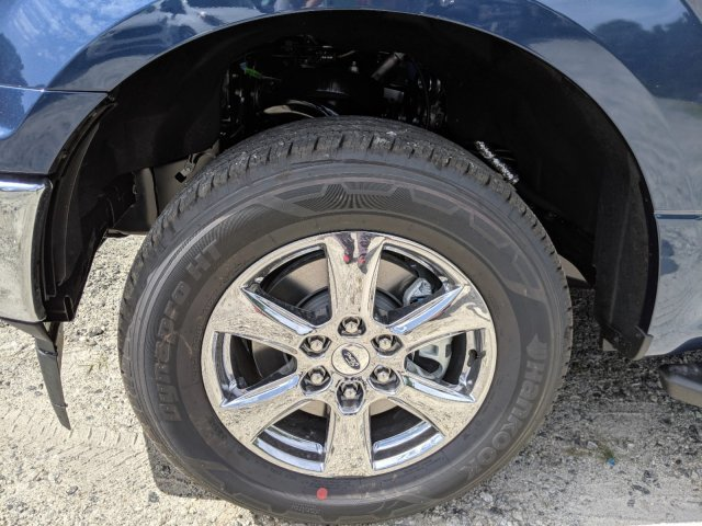 2019 Blue Jeans Metallic Ford F-150 XLT Automatic 4 Door RWD