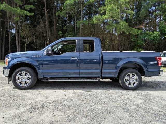 2019 Blue Jeans Metallic Ford F-150 XLT Truck Twin Turbo Regular Unleaded V-6 2.7 L/164 Engine Automatic 4 Door RWD