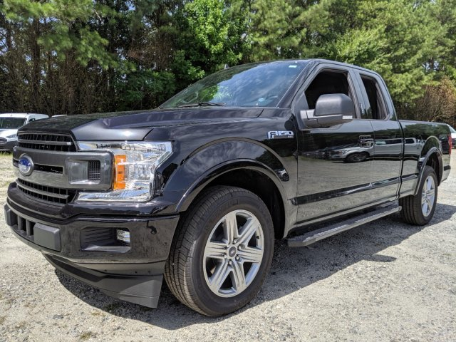 2019 Ford F-150 XLT Twin Turbo Regular Unleaded V-6 2.7 L/164 Engine RWD Truck Automatic
