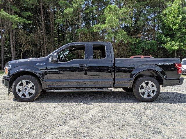 2019 Agate Black Metallic Ford F-150 XLT 4 Door Truck RWD