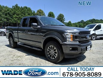 2019 Magnetic Metallic Ford F-150 LARIAT 4 Door Truck 4X4 Twin Turbo Regular Unleaded V-6 2.7 L/164 Engine