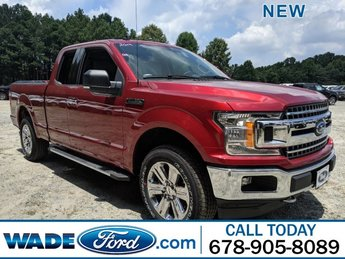 2019 Ruby Red Metallic Tinted Clearcoat Ford F-150 LARIAT 4 Door Automatic 4X4